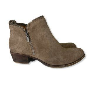 Lucky Brand Bartalino Zip Booties  Womens 7.5